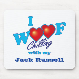 Mim Woof Jack Russell Mouse Pad