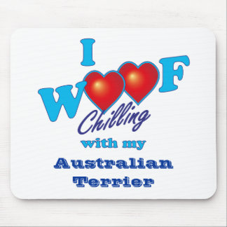 Mim Woof Terrier australiano Mouse Pad
