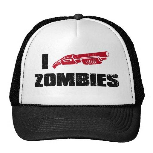 mim zombis da espingarda bonés
