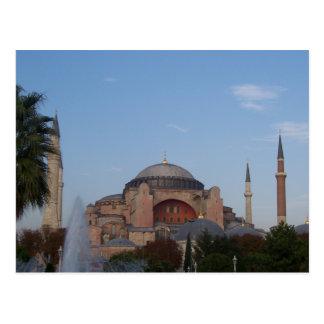 Minaretes e mais cartão postal