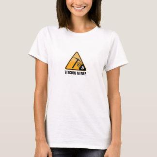 Mineiro de Bitcoin Camiseta