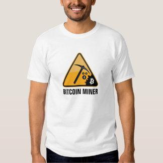 Mineiro de Bitcoin T-shirts
