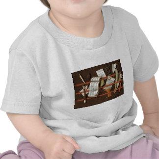 Mineiro de Edward - cremalheira da letra T-shirts