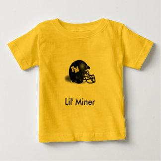 Mineiro de Lil Camiseta Para Bebê