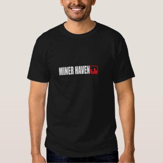 Mineiro preto T Camiseta