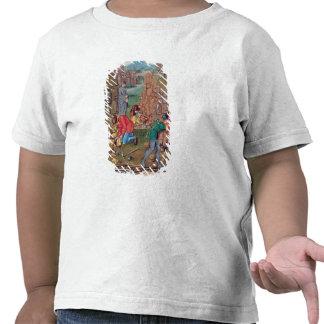 Mineiros no trabalho, 'de DES Choses do DES T-shirt