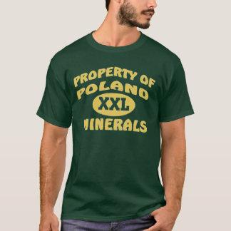 Minerais do Polônia XXL Camiseta