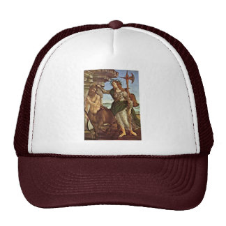 Minerva e o centauro por Botticelli Sandro Boné