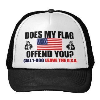 Minha bandeira ofende-o? boné