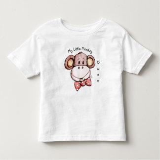 Minha camisa adorável da criança T do macaco