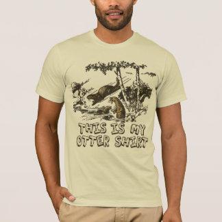 Minha camisa da lontra de rio