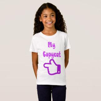 Minha camisa do gêmeo do copiador