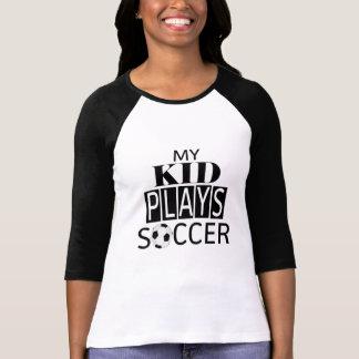 Minha camisa do #SoccerMom do futebol dos jogos