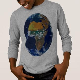 Minha camisa longa de Sleve T do mundo