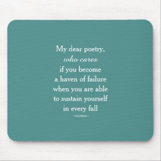 Minha cara Poesia Mousepad