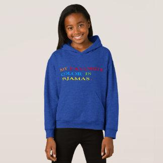 Minha cor favorita é pijamas