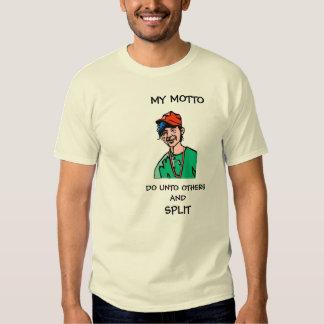 Minha divisa (adolescente) t-shirts
