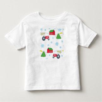 Minha fazenda de árvore pequena camiseta infantil