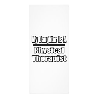 Minha filha é um fisioterapeuta 10.16 x 22.86cm panfleto