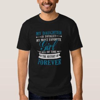 Minha filha para sempre camiseta