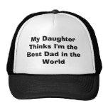 Minha filha pensa que eu sou o melhor pai no mundo bones