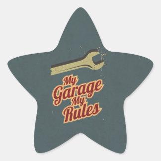 Minha garagem minhas regras adesito estrela