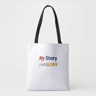 Minha história é seu bolsa da glória