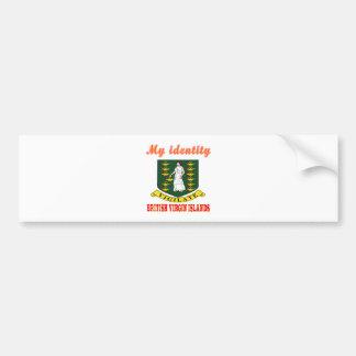 Minha identidade British Virgin Islands Adesivo