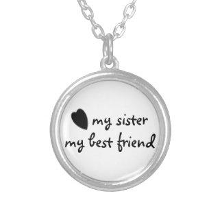 minha irmã minha colar do melhor amigo