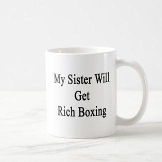 Minha irmã obterá o encaixotamento rico caneca