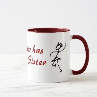 Minha irmã tem a melhor irmã caneca