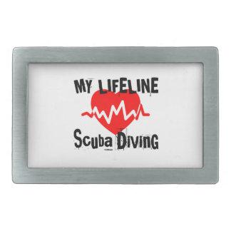 Minha linha de vida mergulho autónomo ostenta o