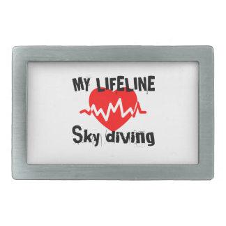 Minha linha de vida mergulho de céu ostenta o
