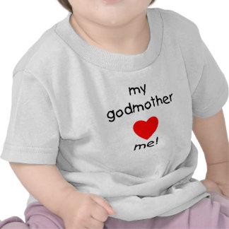 Minha madrinha ama-me t-shirts