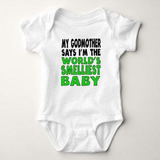 Minha madrinha diz que eu sou o bebê o mais t-shirt