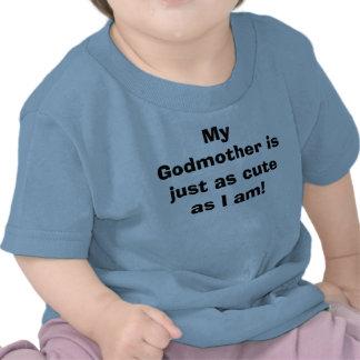 Minha madrinha é apenas tão bonito como eu sou! t-shirt