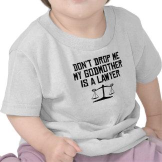 Minha madrinha é um advogado t-shirt