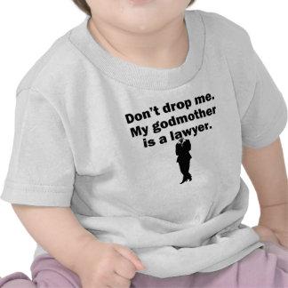 Minha madrinha é um advogado camisetas