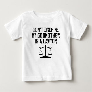 Minha madrinha é um advogado tshirt