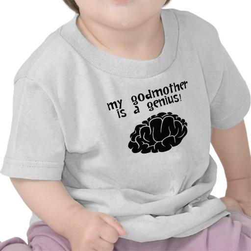Minha madrinha um gênio camiseta