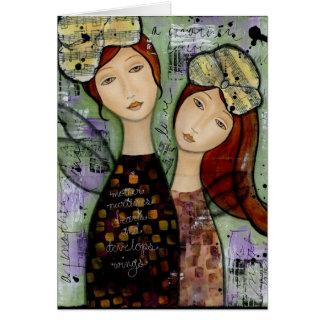 Minha mãe, meu cartão da filha