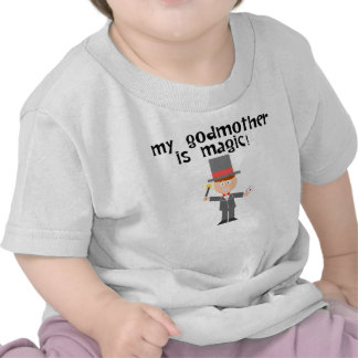 Minha mágica da madrinha camisetas