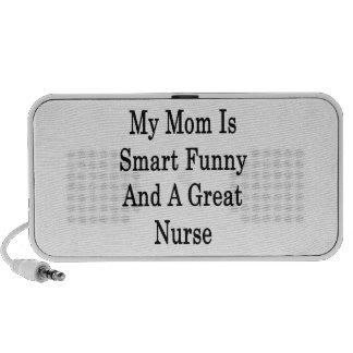 Minha mamã é engraçada esperto e uma grande enferm caixinha de som para iPod