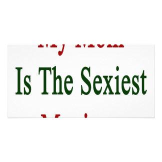 """Minha mamã é o mexicano o mais """"sexy"""" cartões com fotos"""