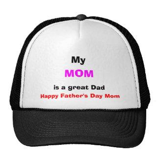 Minha mamã é um grande boné do pai