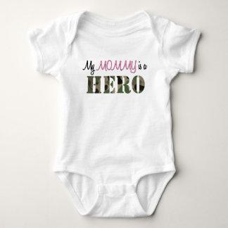 Minha MAMÃE é um herói Body Para Bebê