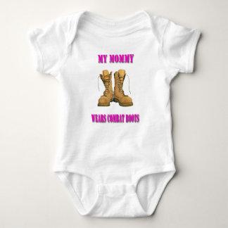 Minha mamãe veste o Creeper das botas de combate Body Para Bebê