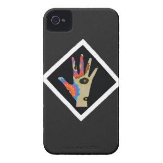 Minha mão abstrata capa para iPhone