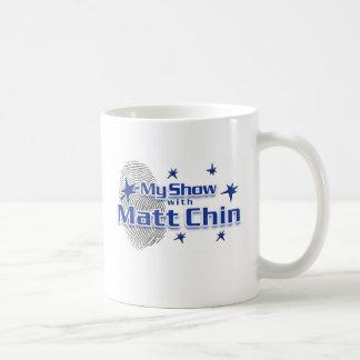 Minha mostra com a caneca de Matt Chin