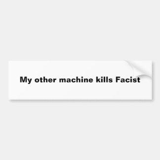 Minha outra máquina mata Facist Adesivos